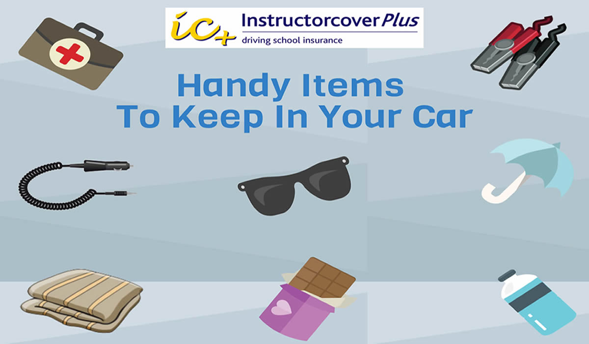 Handy items to keep in your car