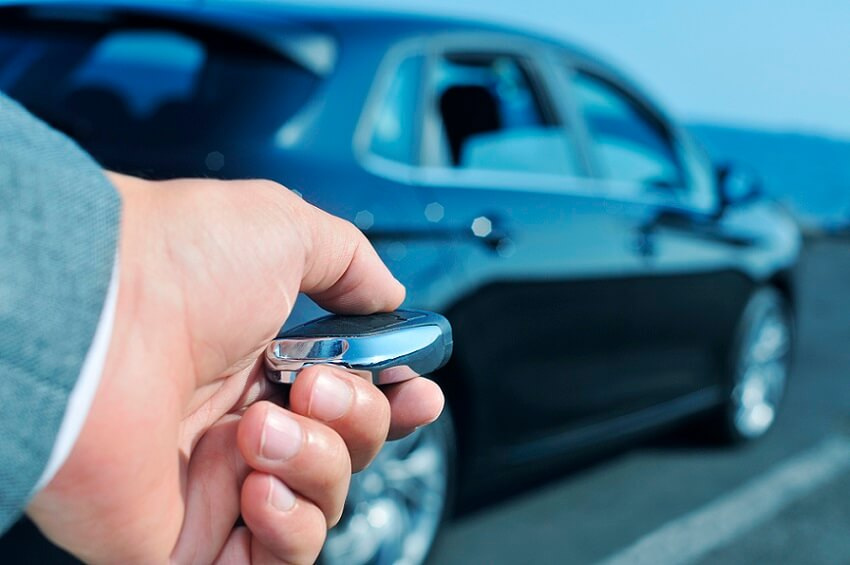 Keyless car theft increased